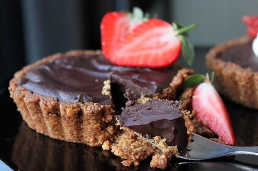 Primal Chocolate Ganache Tart