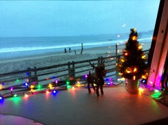 View from the BWB at Seacliff State Beach in December