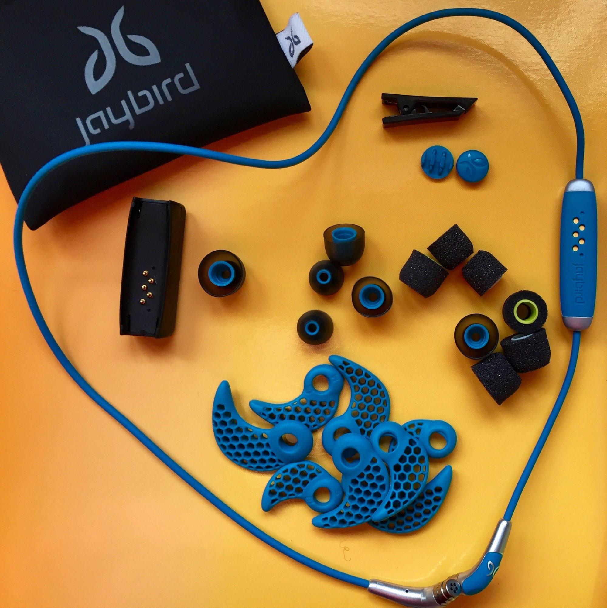 hight resolution of these wireless earbuds are designed with active people in mind you sure get a lot for your money in the box there is a cable with earbuds at each end and