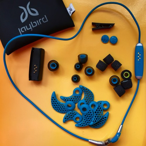 small resolution of these wireless earbuds are designed with active people in mind you sure get a lot for your money in the box there is a cable with earbuds at each end and