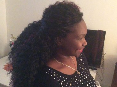 crochet braids long coiffure protectrice