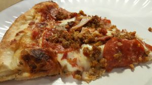 Allen's Stone Backed Pizzeria Slice