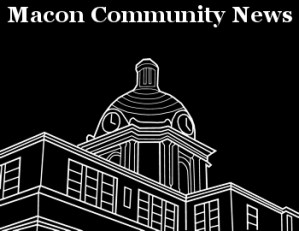 Macon Community News Logo Black