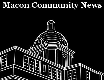 Macon Community News Logo Black