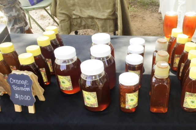 Shamrock Apiaries Honey Wesleyan Market