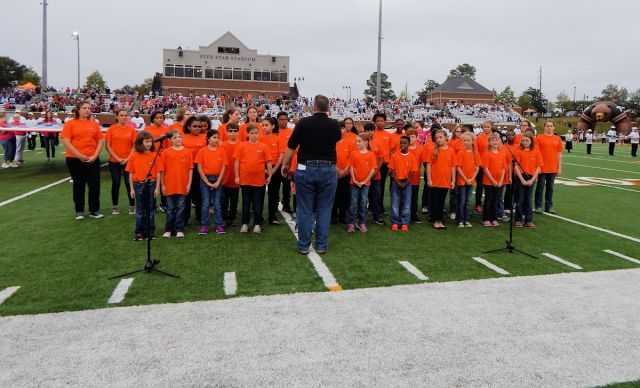 Mercer Youth Choir - Football