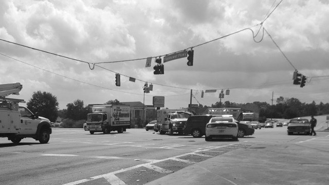 Another Accident Eisenhow and Log Cabin Macon