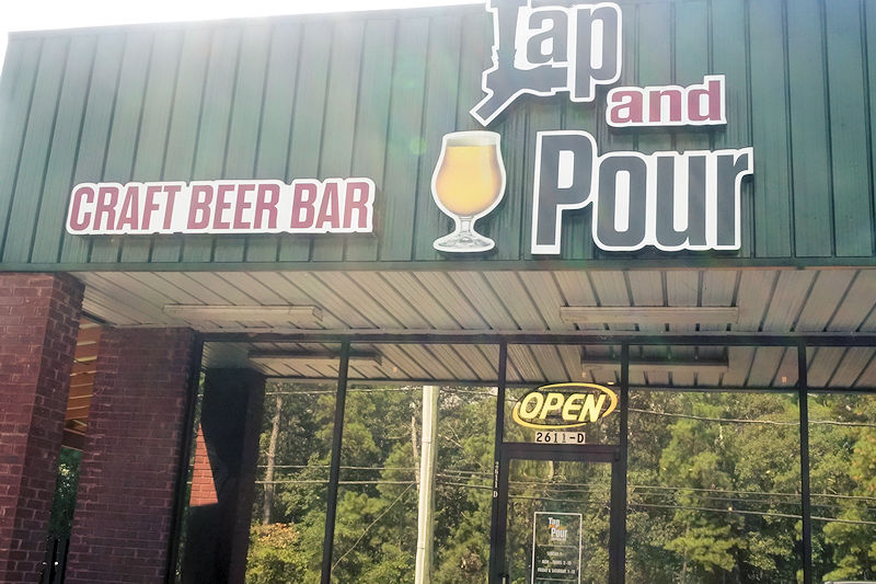 Tap and poor outside Warner Robins