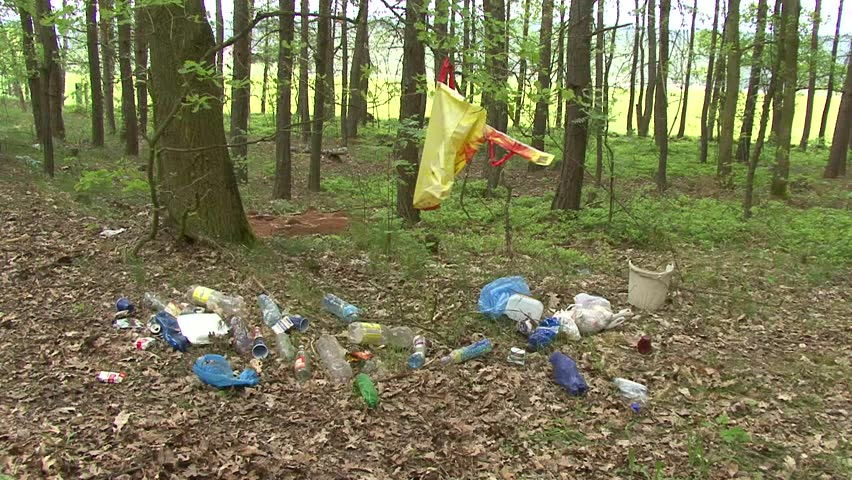 Trash in Macon