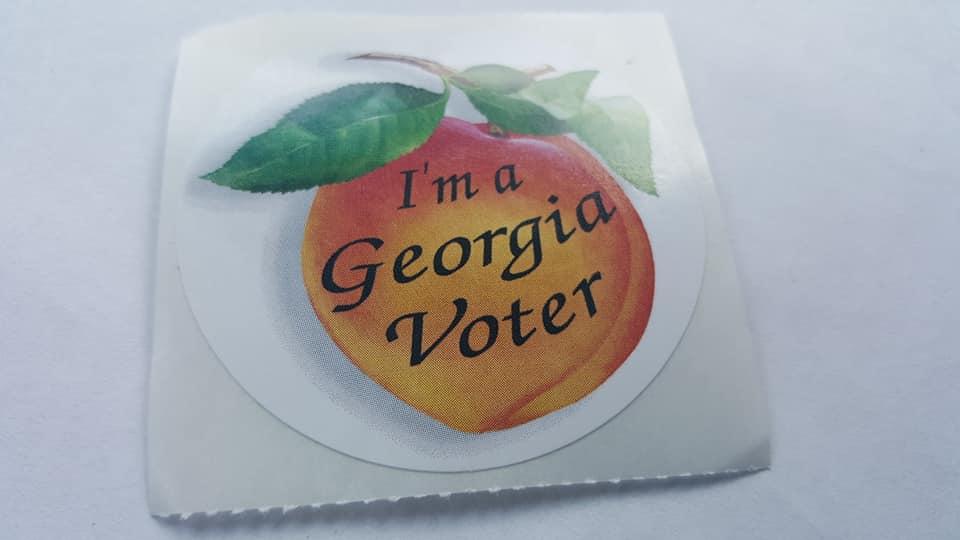 GA Voter Sticker
