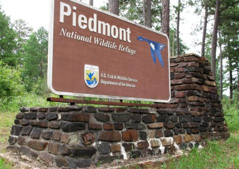 Piedmont Wildlife Refuge Sign