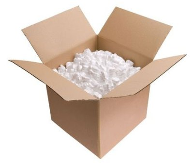 Styrofoam in box