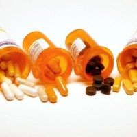 unwanted medication in orange prescription bottles