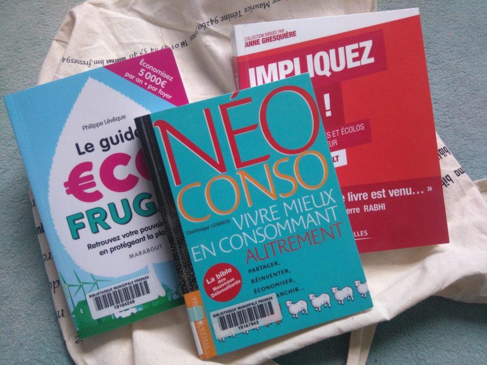 Des livres sur la consommation