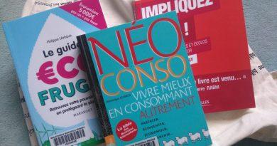 livres sur la consommation ma conscience écolo
