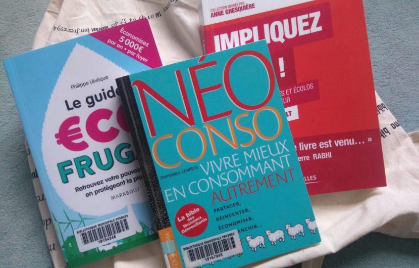 3 livres sur la consommation