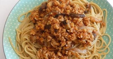 spaghetti bolognaise veganes ma conscience écolo