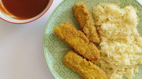 Nuggets de tofu véganes : à déguster avec les doigts !