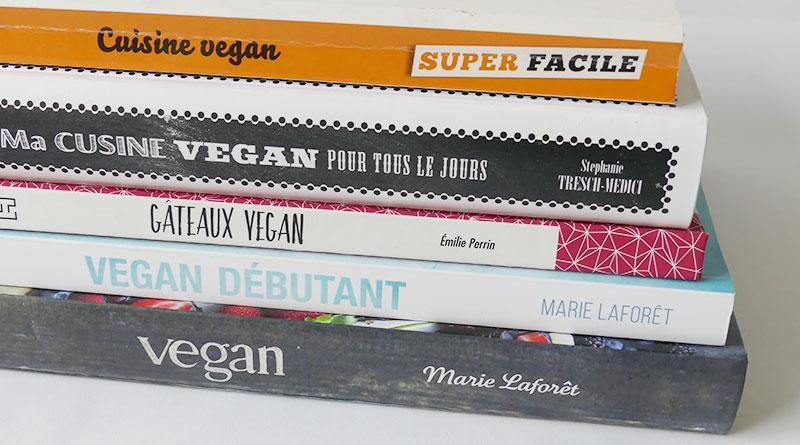 5 livres de cuisine végane et végétarienne