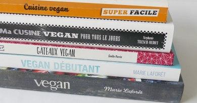 livres de cuisine végétale © ma conscience écolo