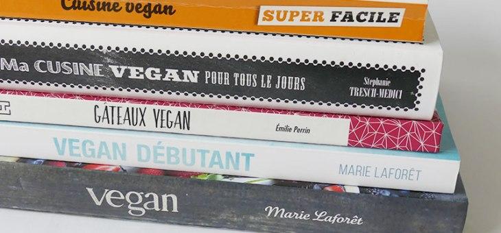 Mes livres de cuisine végétale préférés