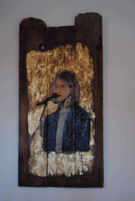 Kurt Cobain- Icon Painting