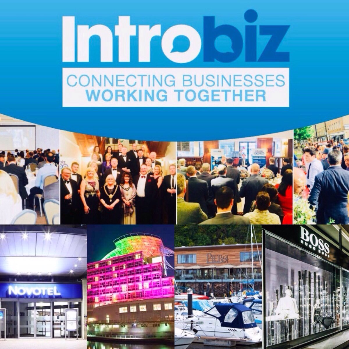Introbiz Business Networking Event at at the Wonderful Ffos Las Racecourse, Llanelli, South Wales — Introbiz' Blog – Wales' Biggest Business Network & Expo