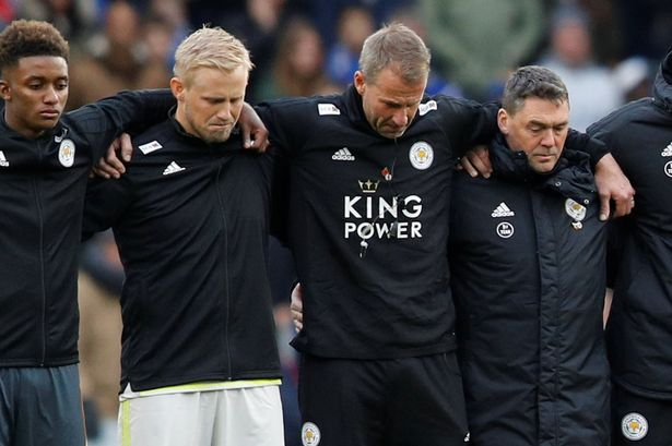 An emotional minute's silence at Leicester City match against Cardiff