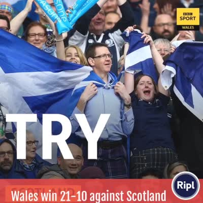 Wales 21 – 10 Scotland – Great start to the Autumn Test…