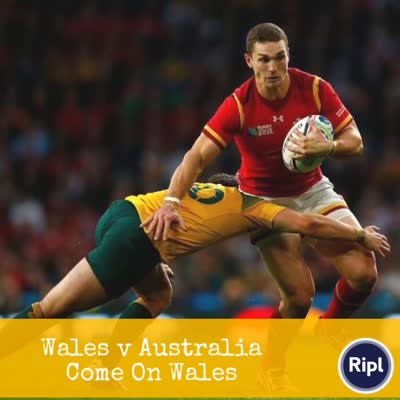 Watch Wales attempt to beat Australia for the first time in 10 years…