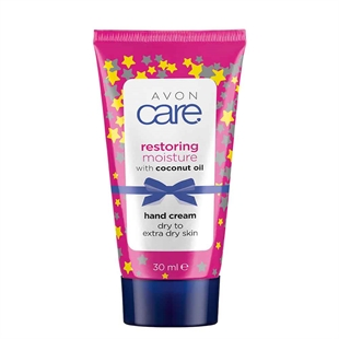 Avon Care Festive Restoring Coconut Oil Hand Cream