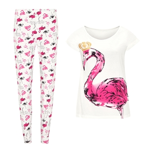 Royal Flamingo PJs