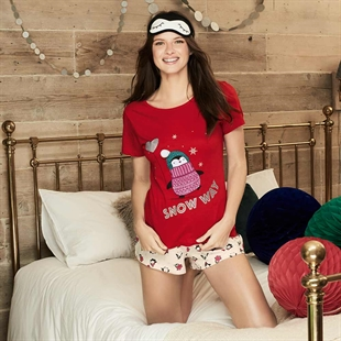 Penguin 3-Piece PJs Set