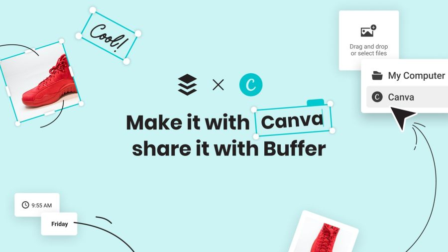 Introducing Our Canva Integration: Design and Share Visual Content Instantly