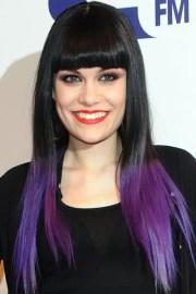 cheveux violet une coloration
