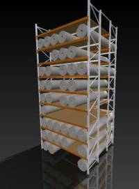 Carpet Rack Systems - Carpet Vidalondon