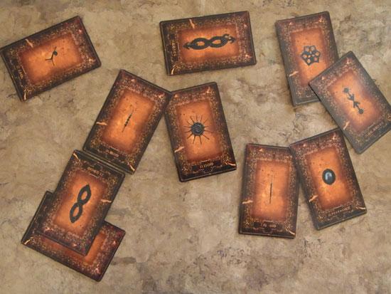 オラクルノットカード配置