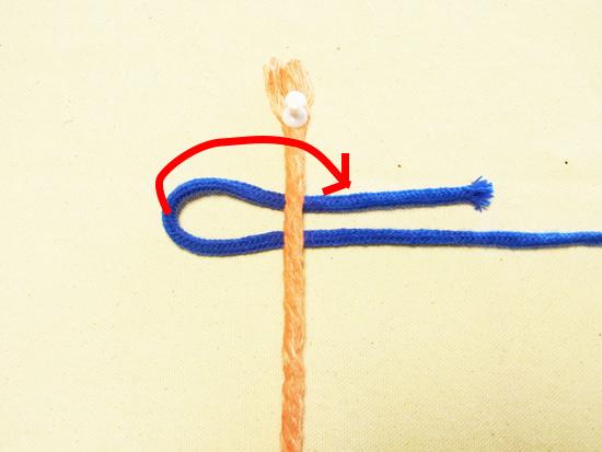 タッチング結び 工程1