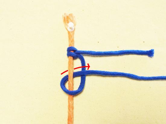 タッチング結び 工程6