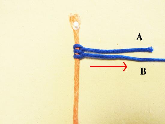 タッチング結び 工程7