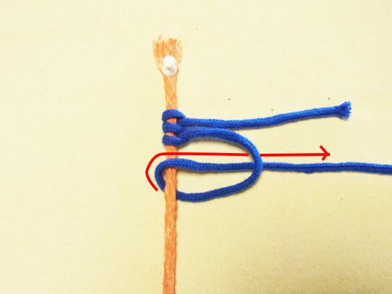 タッチング結び 工程9