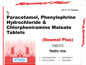 Seumol Plus tablets