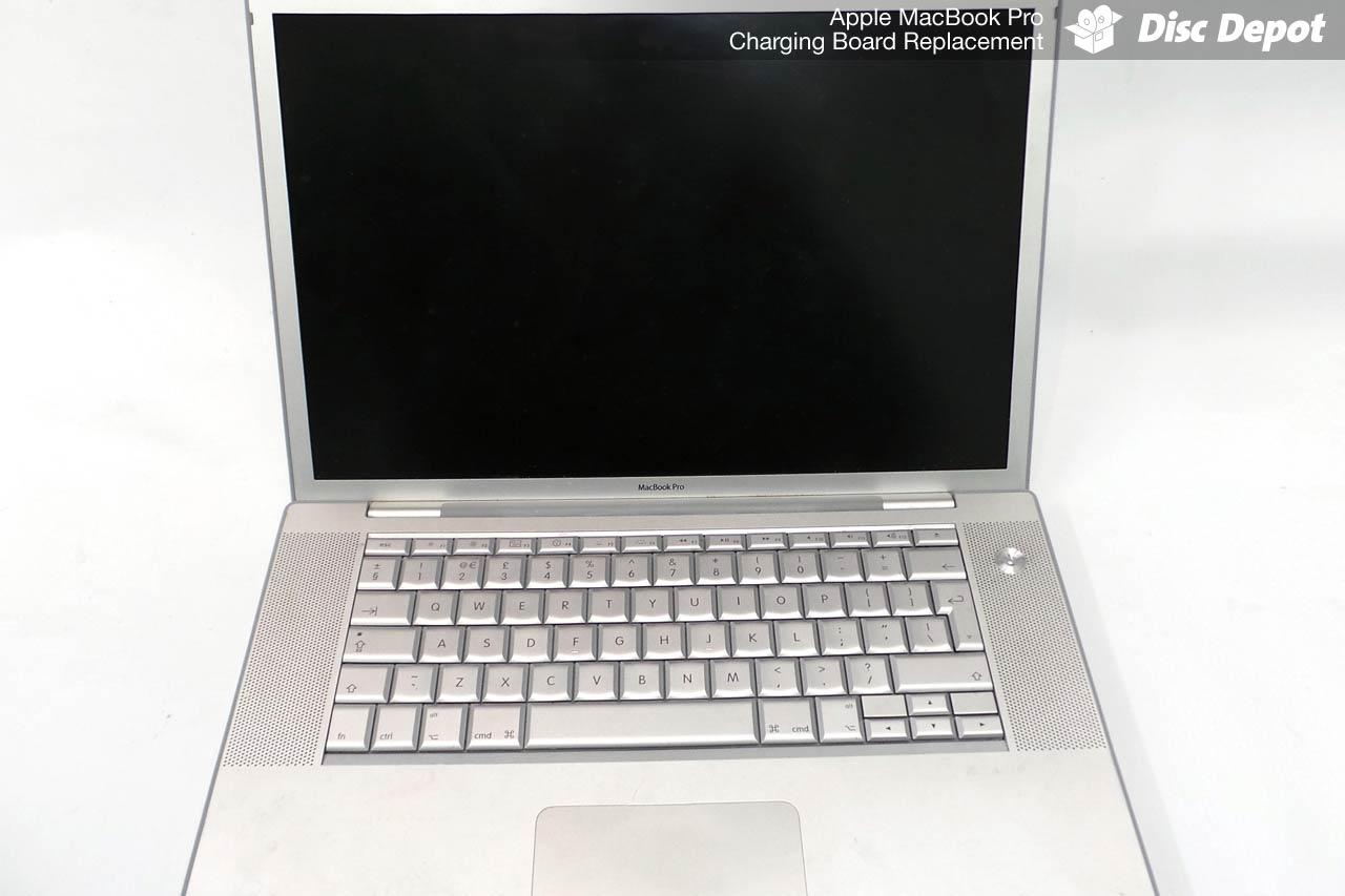 Mac Repair Dundee & St Andrews | MacBook Pro Charging Board Replacement