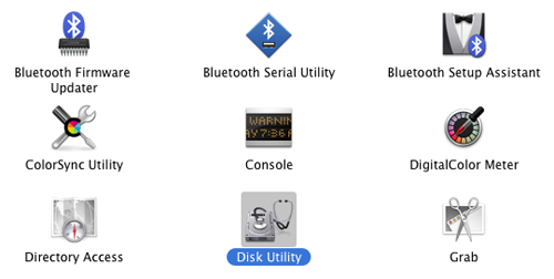 Mac OS X Panther, Formatting And Partitioning Hard Drives