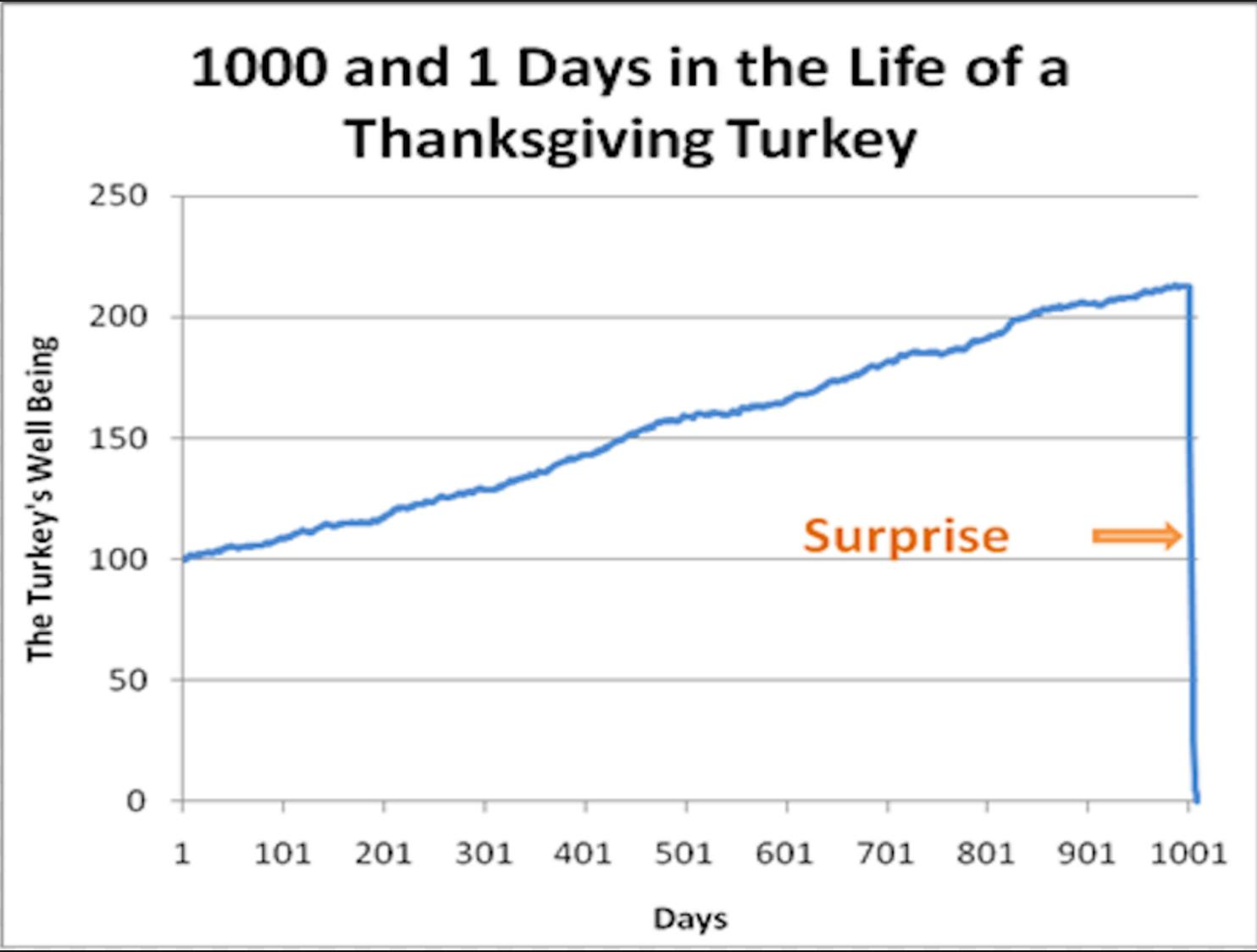 marxist bubbles and taleb s turkey it s going to be an awkward  thanksgiving turkey