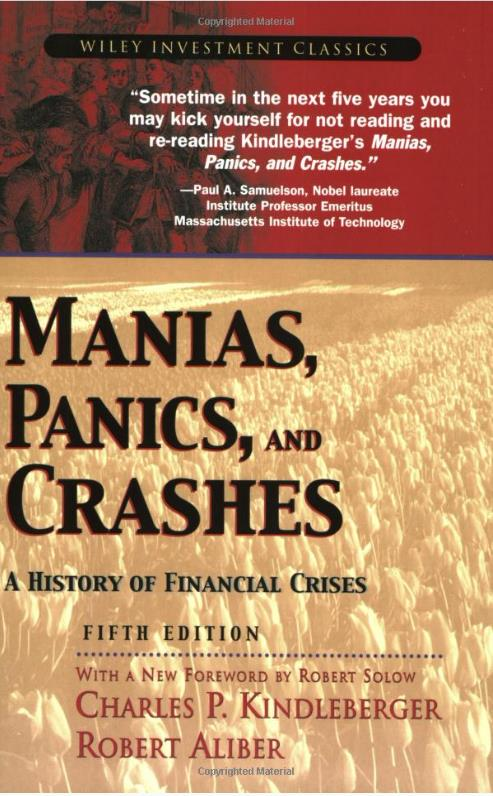 Manias, Panics, and Crashes Book