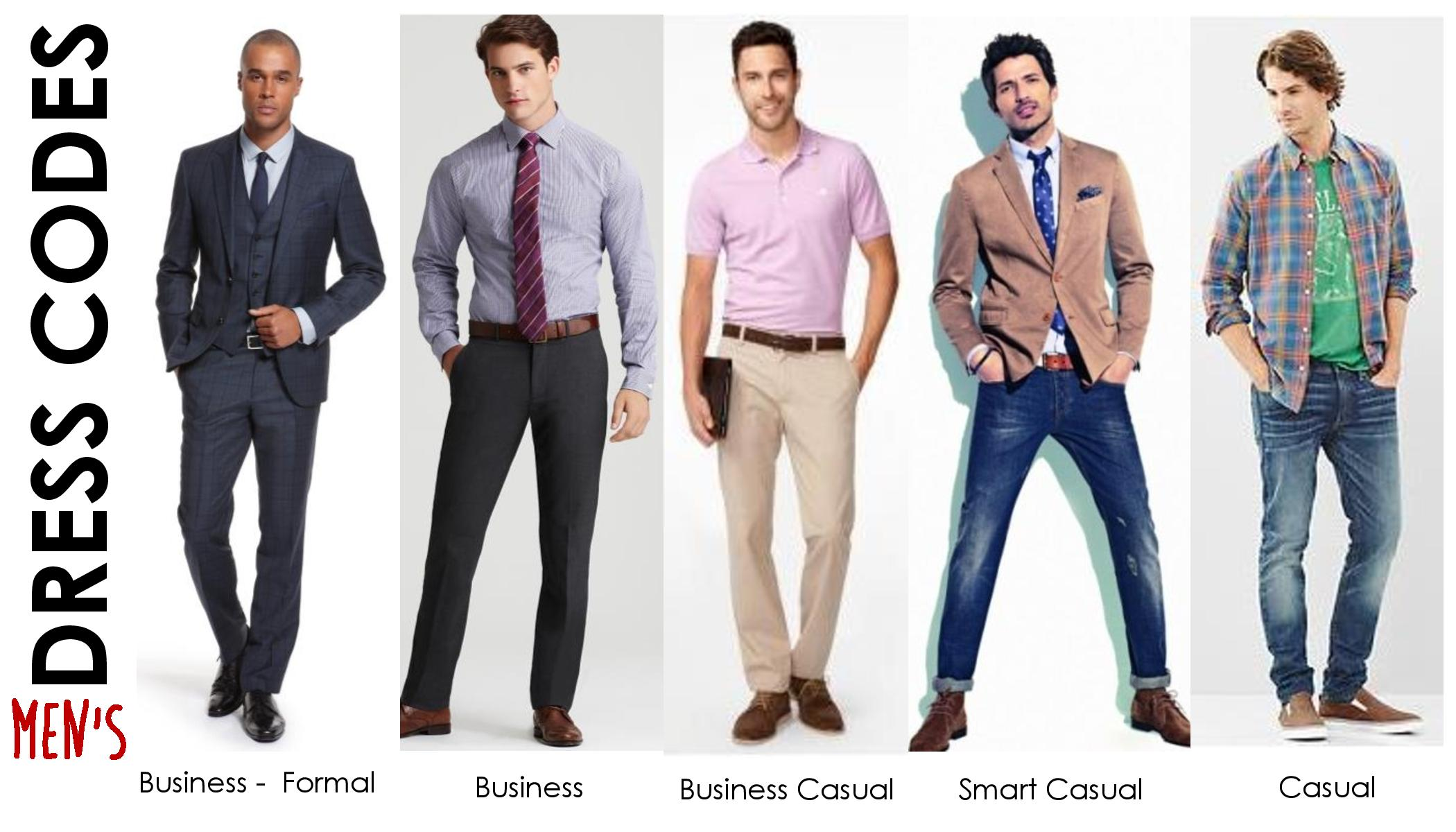 Formal Dress Code Men Office
