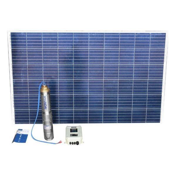 Bomba Solar con 4 Paneles