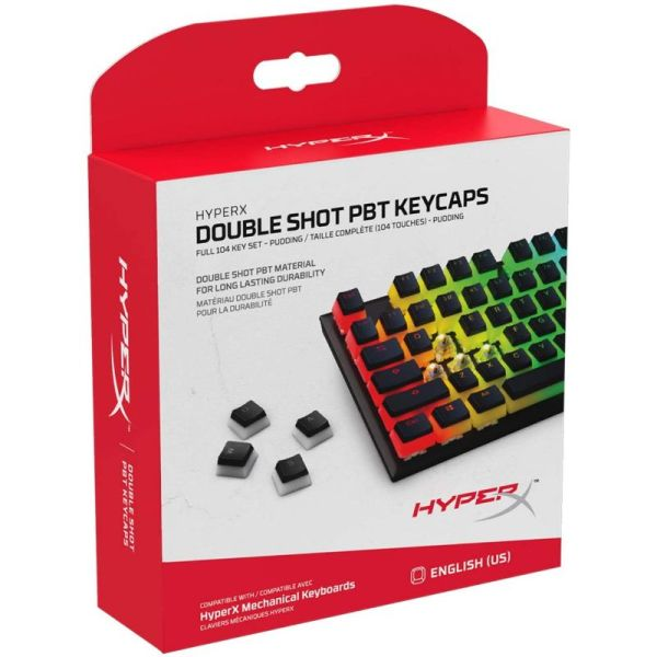 Hyperx Kit De Teclas Para Pudding Abs Keycaps
