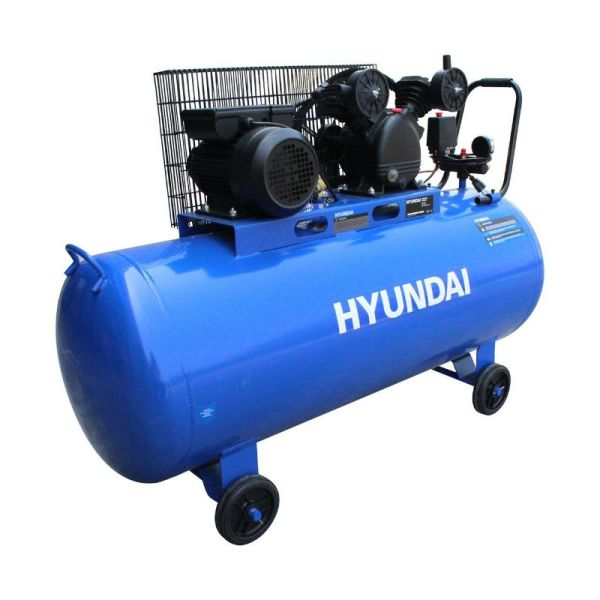 Compresor Profesional 200 litros de Faja_1